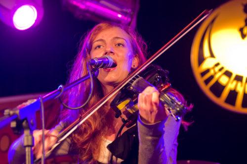 Jana Věnečková, frontmanka skupiny Věneband, foto Rejka Balcarová
