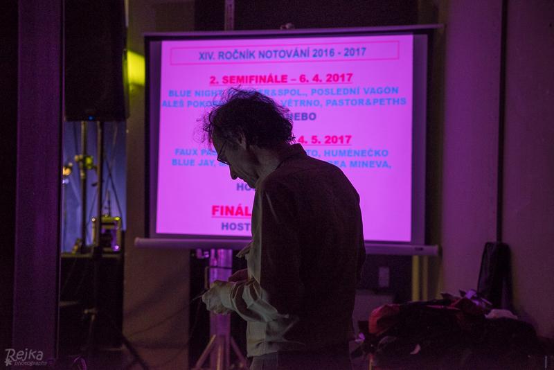 Hámoť o 1. semifinále XIV. ročníku Notování 2. 3. 2017